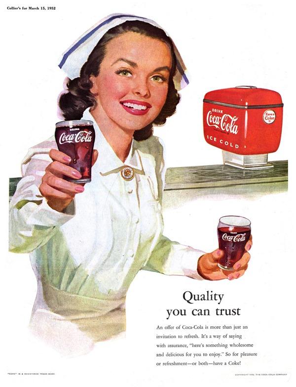 Coca Cola 1952