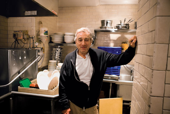 Robert De Niro at Tribeca Grill