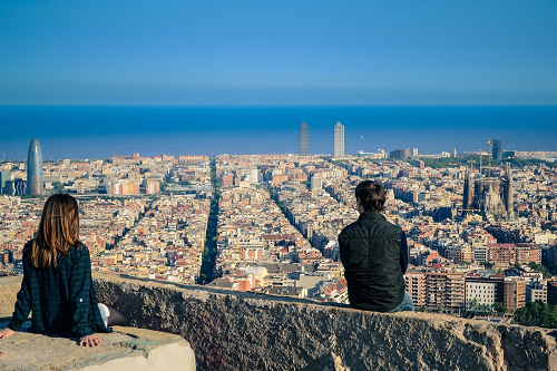 Stunning Barcelona views!
