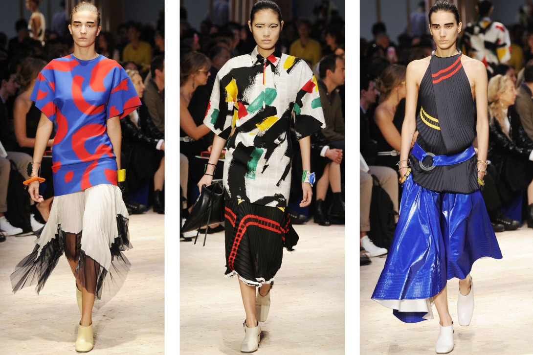 African trend by Céline SS14