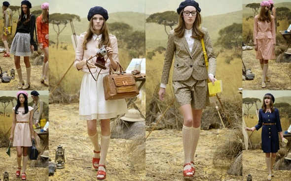 African safari inspiration by Orla Kiely SS14