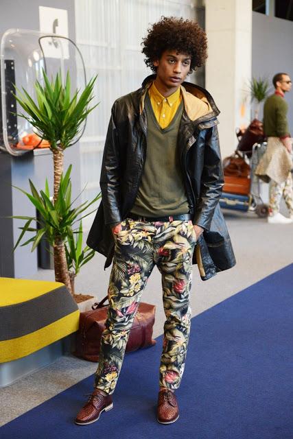 Ysham Avdulahi dressed for SS14: African Inspiration