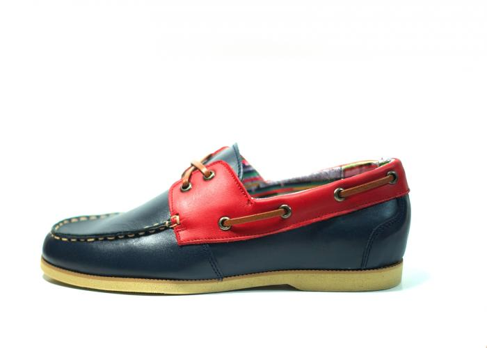 MOCCASIN NAVY Pola Foster
