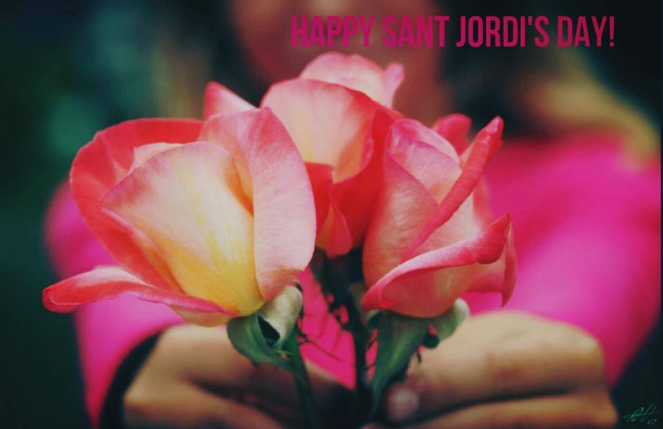 Sant Jordi! Books, roses… andRed!