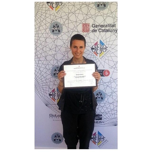 Miriam Ponsa / Winner of 080 Barcelona Fashion SS15