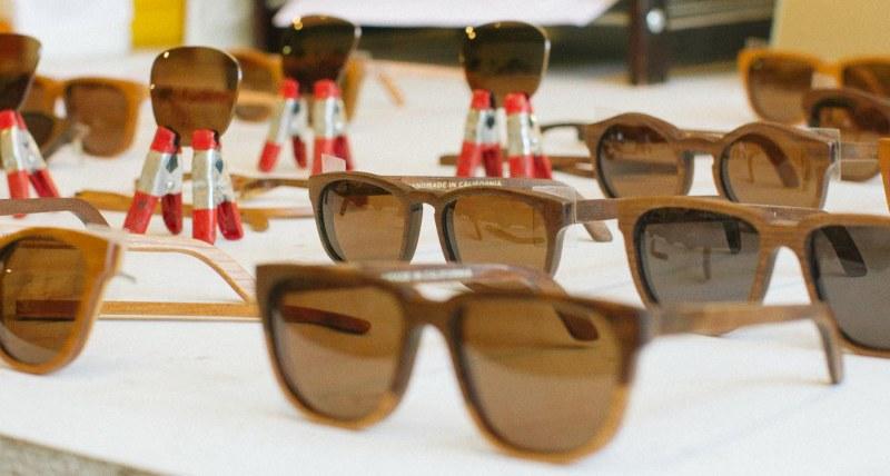 Wooden Sunglasses // Gafas de madera muymia.com