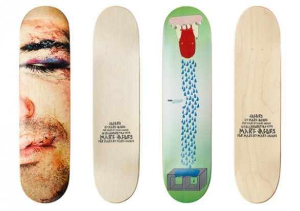 Marc Jacobs' Skateboards + Decks