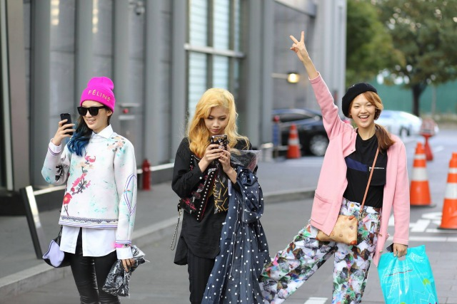 Seoul street style snappers / SolSol / Chincha source