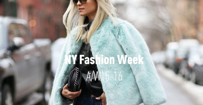 New York Fashion Week AW15/16