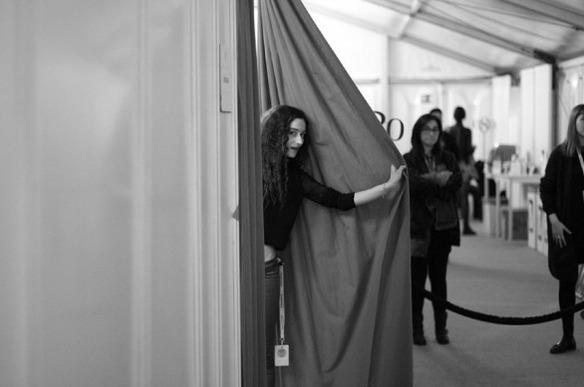 Clara De Nadal Trias at 080 barcelona fashion by icanteachyou, Gerard Estadella