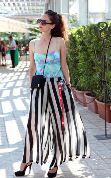 Clara De Nadal Trias at 080 Barcelona Fashion featured on VOGUE UK