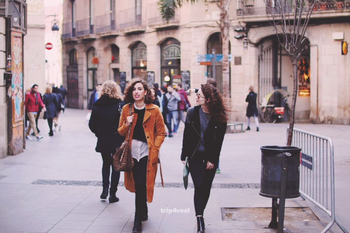 Local traveling Barcelona