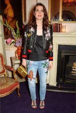 Carlota Casiraghi in Gucci AW16-17