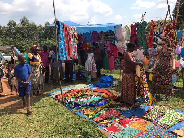 Garments at Katoke Market